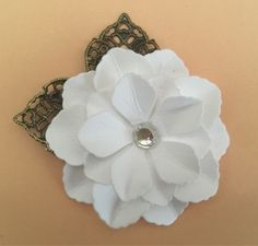 September Giveaway Challenge Inspiration by Monica– ButterBeeScraps September Challenge, White Flowers, Filigree, Embellishments, Giveaway, Vintage Jewelry, Challenges, Metal, Projects