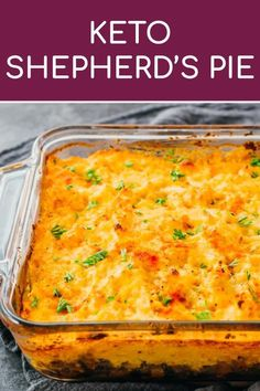 A healthy keto version of traditional shepherd's pie with lamb (or called cottage pie, if using beef). This is an easy recipe for the best . Mince Recipes, Beef Recipes, Cooking Recipes, Cooking Tips, Cooking Games, Snack Recipes, Dessert Recipes, Protein Recipes, Cookbook Recipes