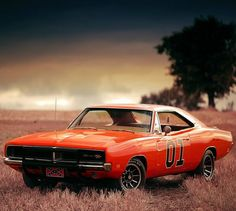 "Dodge Charger ""General Lee""from The Dukes of Hazzard - klaus Metternich - Pkw General Lee Car, Jaguar E Typ, Luxury Sports Cars, 1969 Dodge Charger, Dodge Chargers, Bmw Classic, Classic Muscle Cars, Sweet Cars, Us Cars"