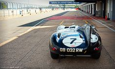 Track Ready - Long Nose Jaguar D Type No.7 - 2013 Silverstone Classic