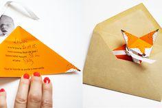 fabriquer des faire-part de naissance origami | Bubble – comprendre et surprendre nos enfants