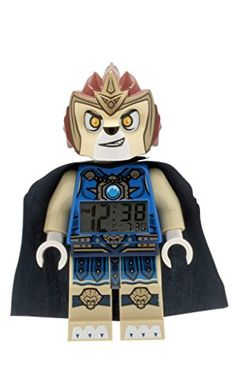 LEGO Kids 9000560 Legends of Chima Laval MiniFigure Alarm Clock *** This is an Amazon Affiliate link. Be sure to check out this awesome product.