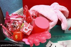You Are The Roots: tot school - 20 months: Pink