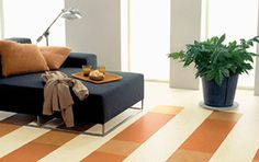 Linoleum floors is an all-natural, non-toxic alternative to vinyl. Linoleum Flooring, Vinyl Flooring, Kitchen Floors, Home Safety, Linseed Oil, Flooring Options, Safe Place, Natural Materials, Floor Chair