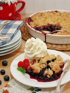 Best Ever Blueberry Cobbler 11