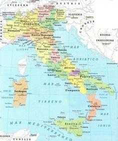 Italië kaart | De beste interactieve Italie kaarten vindt u hier!
