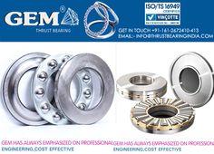 Gem thrust bearing and bearings types.