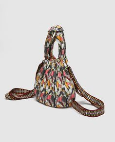 Image 6 of FABRIC BACKPACK WITH TOUCAN PRINT from Zara Italy Travel, Italy Trip, Drawstring Backpack, Zara, Backpacks, Fabric, Image, Fashion, Tejido