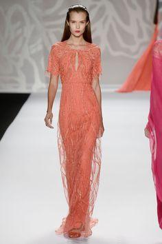 New York Fugshion Week: Monique Lhuillier, Spring/Summer 2014 Monique Lhuillier - Runway - Mercedes-Benz Fashion Week Spring 2014 – Go Fug Yourself