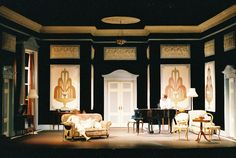 Private Lives. Scenic design by Elroy Ashmore.