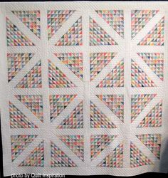 This is our first-ever post about scrap quilts, although we've been collecting inspiration for years. Our favorite scrap quilts are those with a cohesive design and color scheme; in other words, quil