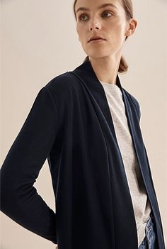 Longline Babywool Cardigan Promotional Events, Shoe Size Conversion, Online Purchase, Long A Line, Body Measurements, Knit Cardigan, Cardigans, Clothes For Women, Mens Tops