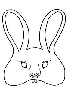 Dibujos para colorear de Mascaras, caretas, Plantillas para colorear de Mascaras, caretas