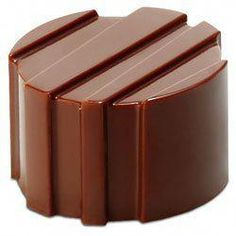 Professional Quality Chocolate Mold Made in Europe of food safe, clear, rigid polycarbonate. Molds are x Ridged Cylinders Style: Ridged Cylinders Size of Forms: 26 d x 16 Number of Forms: 21 cavities How To Make Chocolate, Hot Chocolate, Chocolate Making, Polycarbonate Chocolate Molds, Candy Making Supplies, Handmade Chocolates, Cinnamon Powder, Mold Making, Making Tools