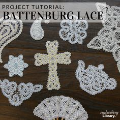 Create freestanding Battenburg lace with these tips from Embroidery Library.