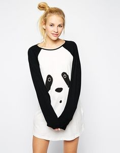 Enlarge Minkpink Panda-Monium Tee Dress- wish this was her size :) i would wear it though lol