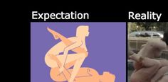 Sex Positions: Expectation Vs Reality