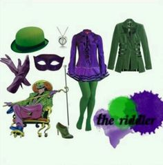 Girl Riddler... can i have this please