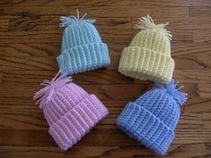 A CHELSEA MORNING: As requested - preemie stocking cap pattern