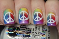 Hippie/Festival nail art ideas ~ More Nail Polish