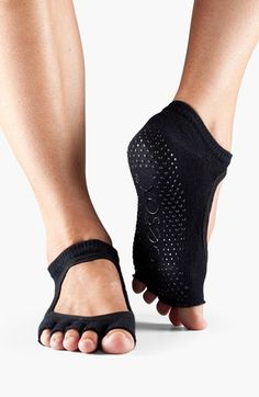 half toe gripper socks