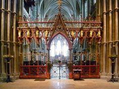 Lichfield Cathedral: Beltéri és szerelvények