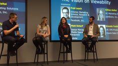 @OracleDataCloud speaks with @facebook, @comScore, @Adobe #arfwest15 #advertising