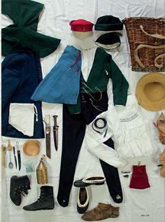 Kleidung und Ausrüstung eines Mannes um 1500 in Südwestdeutschland    A man's look around 1500 in southwestern Germany   www.um1504.de