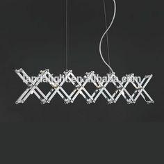 Modern Simple Iron Chrome Lamp