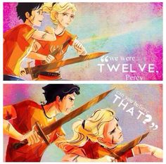 "30 Day Percy Jackson Challenge Day #17: Most Memorable Moment (PJO) One line, and It comes surprisingly from Annabeth ""You drool in your sleep"""