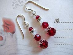 Mrs. Santa Claus Earrings