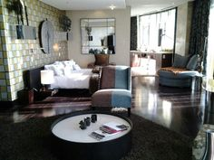 Main bedroom in the penthouse suite, Michaelangelo Hotel, Sandton. Penthouse Suite, Pent House, Home Appliances, Bedroom, Wedding, House Appliances, Valentines Day Weddings, Appliances, Bedrooms