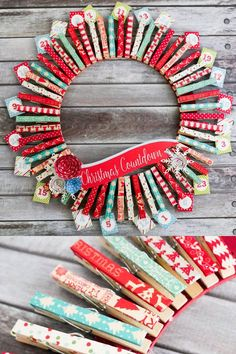 DIY Christmas Advent Calendar with FREE Printables                                                                                                                                                                                 More
