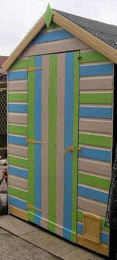 Garden Sheds Virginia Beach my beach hut garden shed - nautical inspired! | garden | pinterest