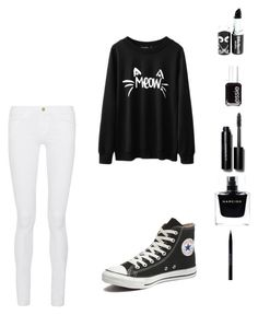 """Untitled #5"" by jelisavcic-jela ❤ liked on Polyvore featuring interior, interiors, interior design, home, home decor, interior decorating, Frame Denim, Converse, Narciso Rodriguez and Bobbi Brown Cosmetics"