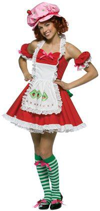 Teen Strawberry Shortcake Costume - Strawberry Shortcake Costumes