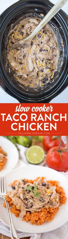Slow Cooker Taco Ran