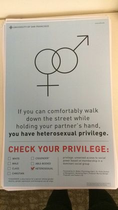 White heterosexual privilege