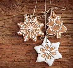 Weihnachten Schmuck Bäckerei-Plätzchen Lebkuchen-Stohlen Backen-Rezepte Basteln
