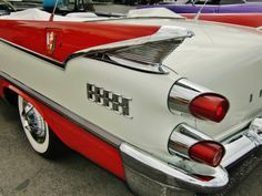 1959 Dodge D-500 tail fin. Photography by David E. Nelson