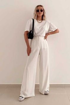 2021 Fashion Trends - Spring Summer Classy Outfits, Chic Outfits, Trendy Outfits, Fashion Outfits, Looks Chic, Looks Style, Summer Fashion Trends, Spring Summer Fashion, Summer Trends