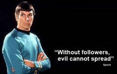 True wisdom.
