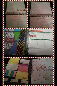 Erin Condren life planners...awesome game changer when in need of organization