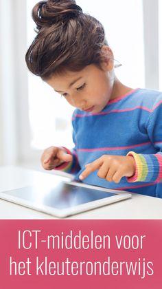 ICT-middelen geschikt voor het kleuteronderwijs Technology Lessons, Computer Technology, Computational Thinking, Ipad, 21st Century Skills, Tablets, Classroom, Education, School