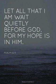 Psalm 62:5 ♥️