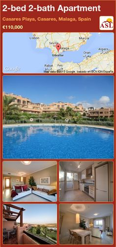 Apartment for Sale in Casares Playa, Casares, Malaga, Spain with 2 bedrooms, 2 bathrooms - A Spanish Life Apartments For Sale, Murcia, Malaga Spain, Golf Courses, Spanish, The Unit, Mansions, Bathroom