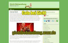 Cola bei Gicht - Lebensmittel / Ernährung Gout, Mineral Water, Small Bottles, Small Glass Jars, Lemonade, Beer, Foods, Health