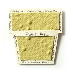 nothing found for seed paper cards gifts cards gifts gift tags seed paper enclosure cards chartreuse pot detail