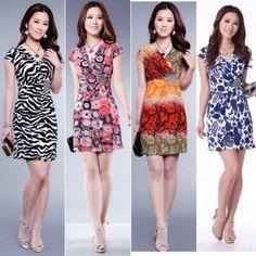 New Women Lace V Neck Summer Dress Sexy Mini Dress Casual Cocktail Party  Dress  e760de1ee355