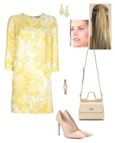 """""""Untitled #8771"""" by gracebeckett on Polyvore featuring STELLA McCARTNEY, Gianvito Rossi, Chanel, Tory Burch and Dolce&Gabbana"""